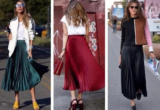 e43f135e377c Красота по-французски: с чем носить плиссированную юбку